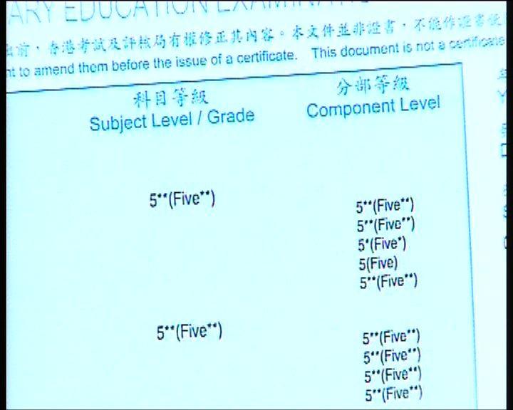 [新聞]  文憑試准考證辦妥 小心核對資料